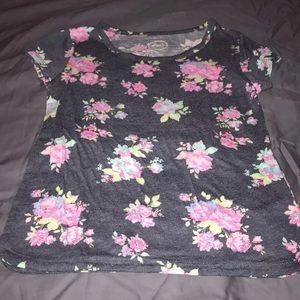 So kids floral shirt